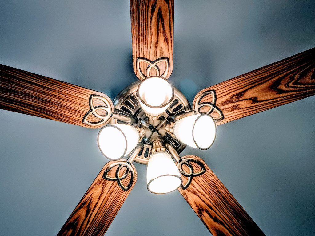 How To Wire A Ceiling Fan With Light